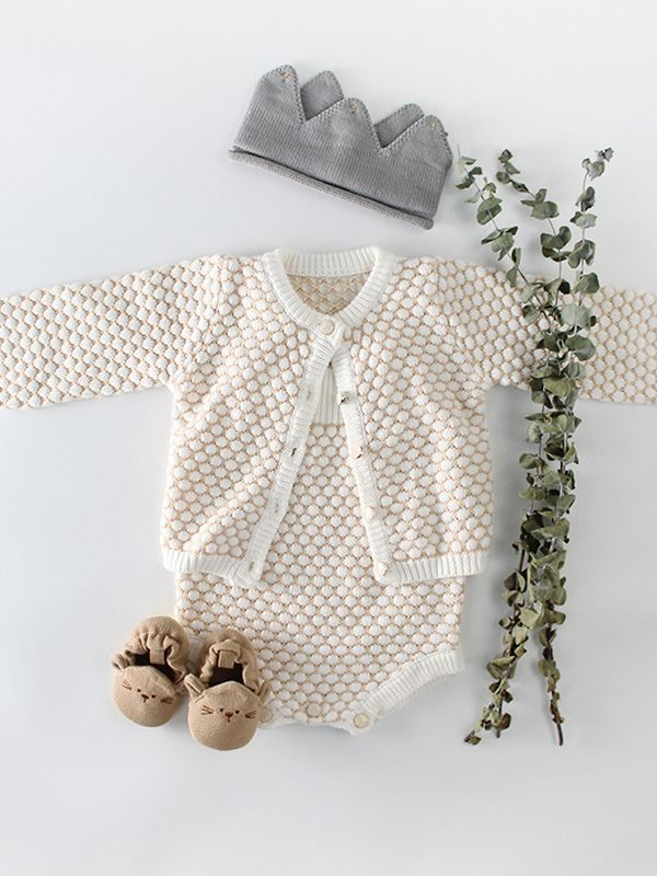 Violet Spanish Style Crochet Cardigan Bello Baby Clothing