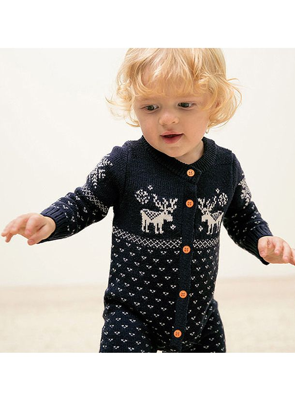 16b476cf5 Noah Reindeer Christmas Sleep Suit